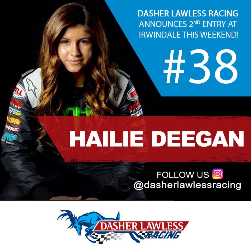#38 Hailie Deegan