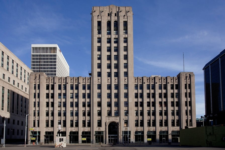 Automated Parking Structure Part of Historic Detroit Free Press Building Redo
